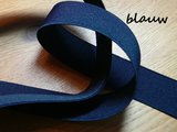 Stomaband Rood/Wit/Blauw gestreept_